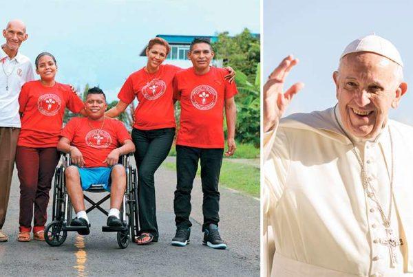 El Papa visitará Casa Hogar para enfermos de VIH