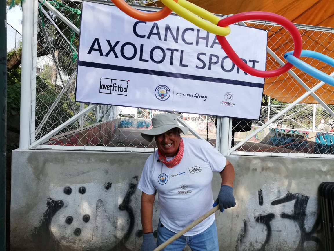 Love.Futbol y Manchester City lanzan nuevo proyecto en México