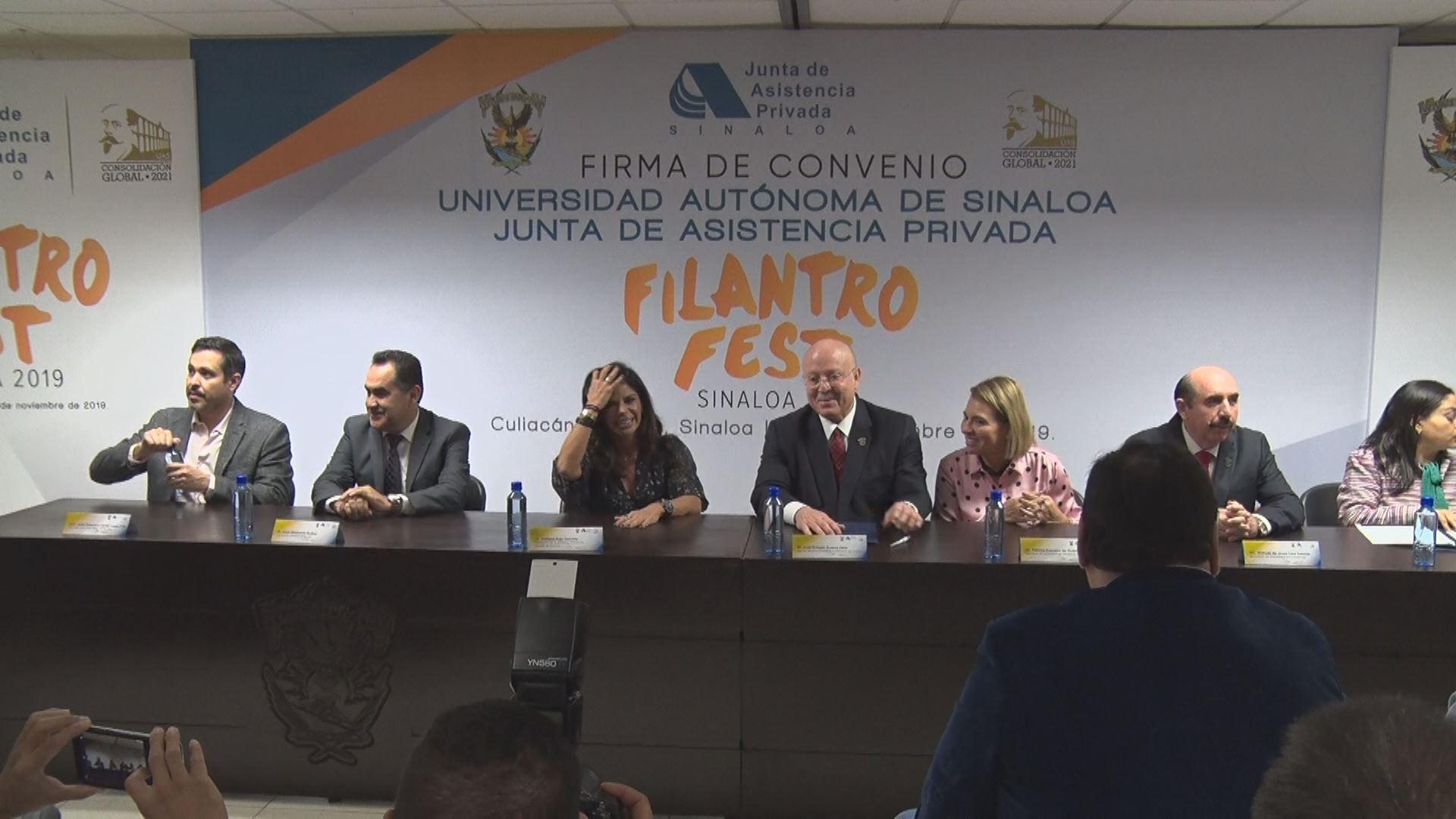 Firman convenio JAP y UAS Sinaloa
