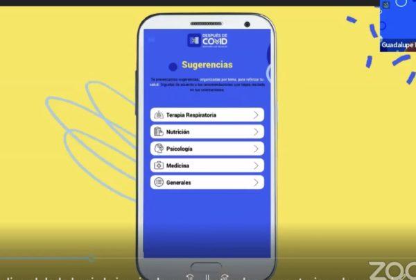 APAC: Crea aplicación móvil para personas con secuelas de covid-19
