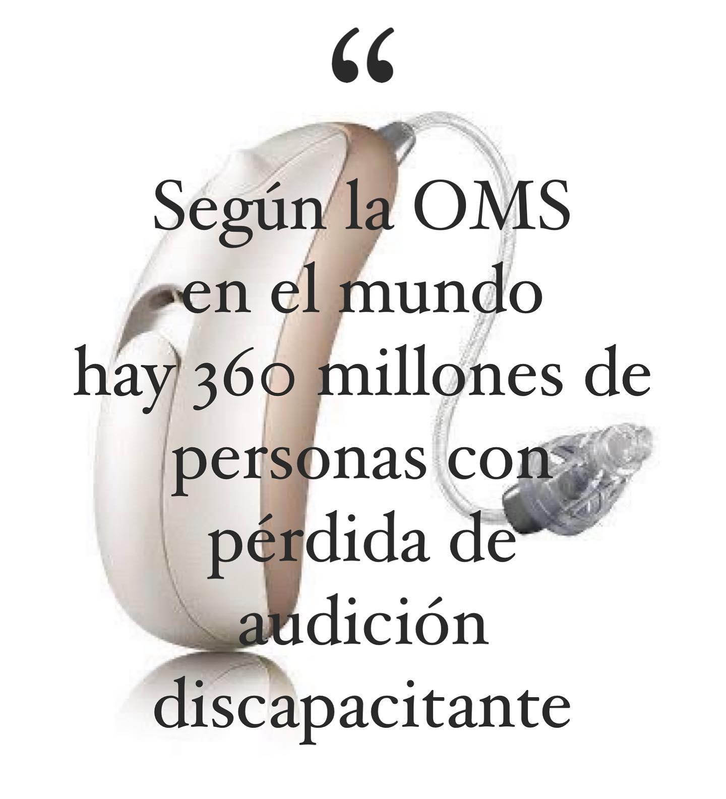 En el mundo existen 360 millones de personas con pérdida auditiva