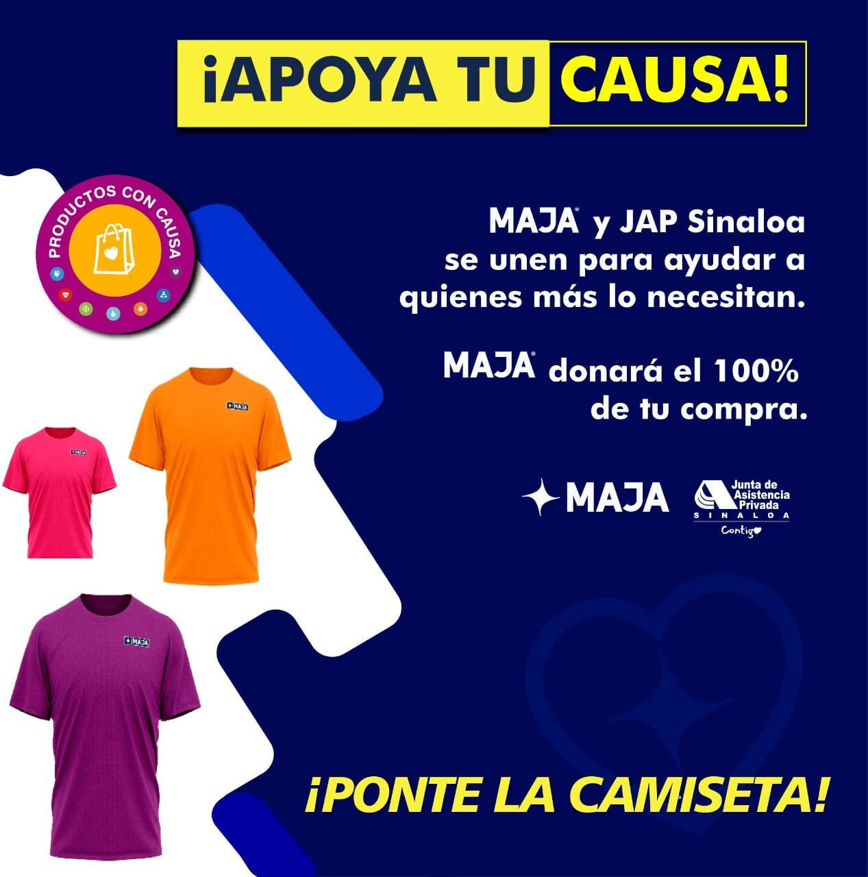 """La JAP Sinaloa lanzó el programa """"Productos con Causa"""" para IAP"""