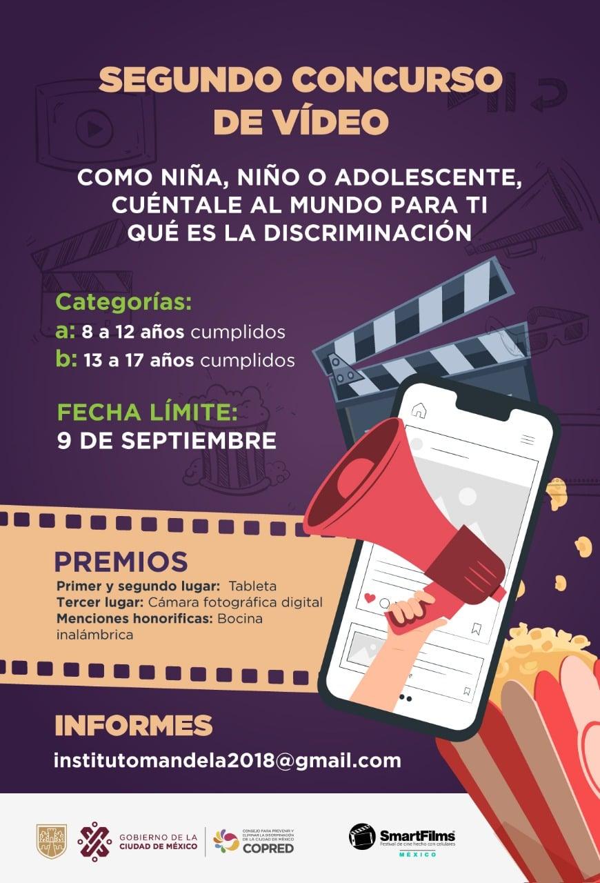 Lanza COPRED concurso de videos sobre niñez y discriminación