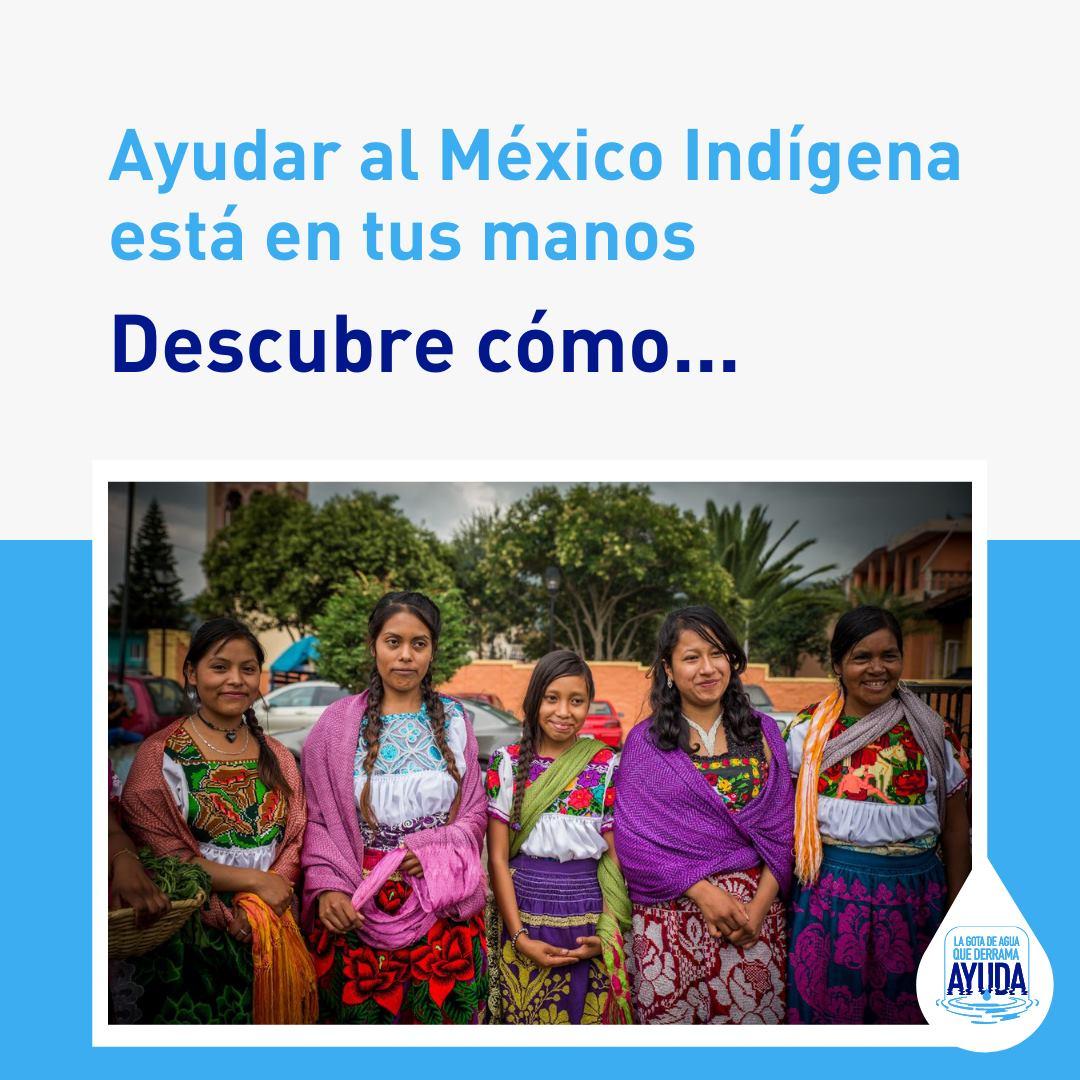 "Fundación Pro Zona Mazahua realiza campaña ""La gota de agua que derrama ayuda"""